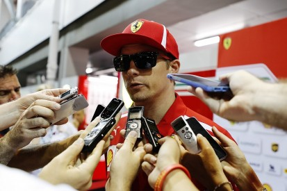Kimi Raikkonen calls Ferrari's Singapore GP qualifying slump 'odd'