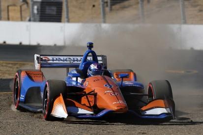 IndyCar Sonoma: Dixon rues error that cost pole in title finale