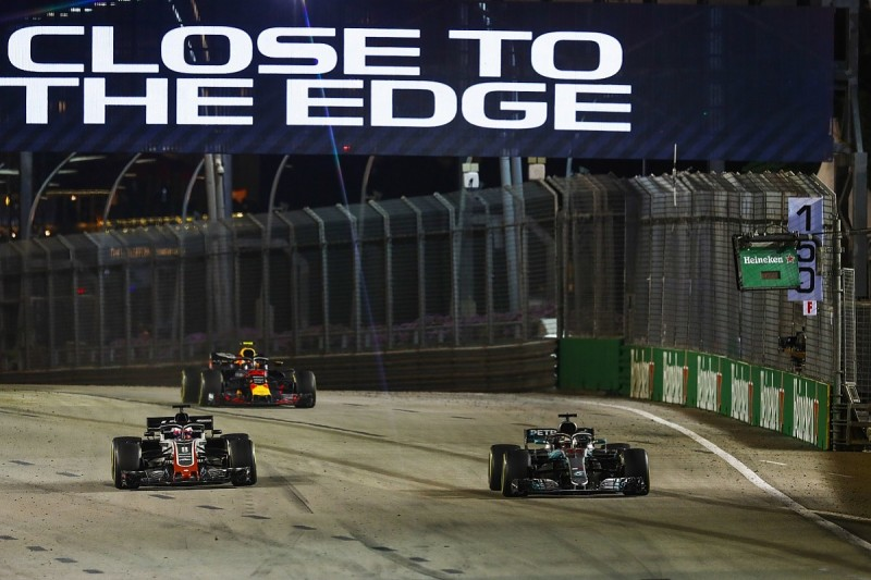 Whiting: Grosjean Singapore GP blue flags lapse 'one of the worst'