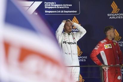 Lewis Hamilton proud he's avoiding Sebastian Vettel-like errors
