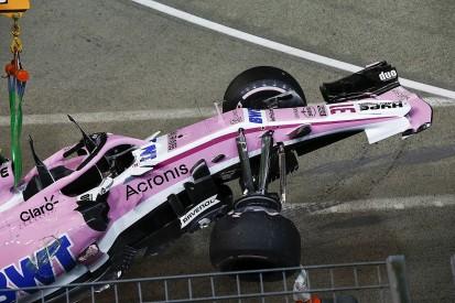 Esteban Ocon: Sergio Perez apologised for Singapore GP collision