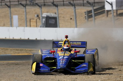 Rossi had '1% shot' at IndyCar title after Sonoma team-mate clash