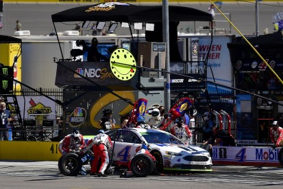 Harvick slams 'Russian roulette' NASCAR tyres after Las Vegas crash