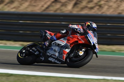 MotoGP Aragon: Dovizioso tops FP1 as Ducatis sweep 1-2-3-4 places