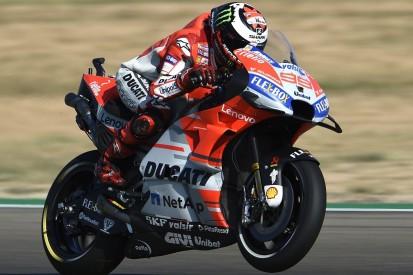 MotoGP Aragon: Lorenzo beats Dovizioso, Marquez to third-straight pole