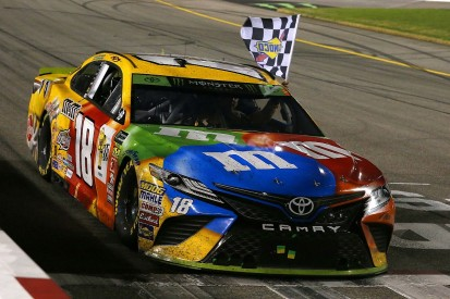 NASCAR Richmond: Kyle Busch beats main rivals Harvick and Truex