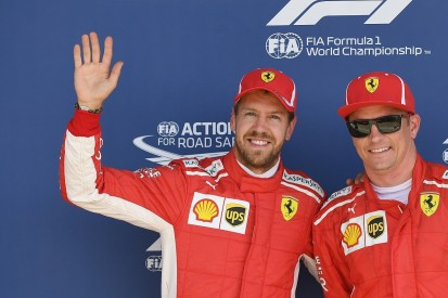 Vettel sad to say goodbye to 'zero bull****' F1 team-mate Raikkonen