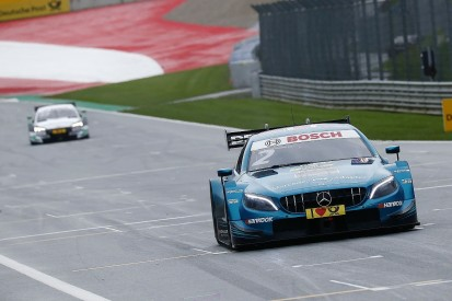 Red Bull Ring DTM: Paffett grabs race two pole to narrow title fight