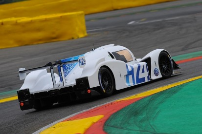 GreenGT Hydrogen 'LMP2' car demonstrated at ELMS Spa round