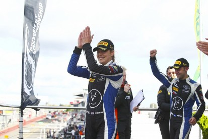 Aston Martin pair Jonny Adam and Flick Haigh seal British GT title