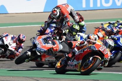 Lorenzo: Marquez destroyed my MotoGP Aragon race, caused foot injury