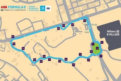 Track layout for Formula E's Saudi Arabia race in Riyadh revealed
