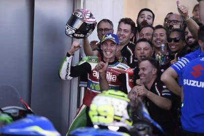 Aleix Espargaro: Aprilia not deluded by shock Aragon MotoGP result