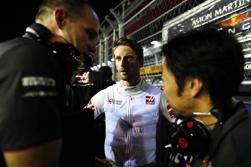 Haas F1's Romain Grosjean 'on thin ice' amid race ban risk