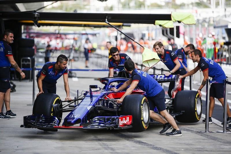 Toro Rosso to run upgraded Honda F1 engine for Russian Grand Prix