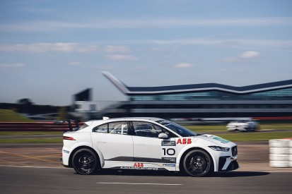 Jaguar completes first I-PACE eTrophy Series test at Silverstone