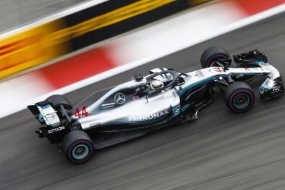 Russian Grand Prix: Hamilton leads Mercedes one-two in practice
