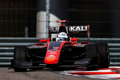 Nikita Mazepin takes GP3 pole position at Sochi