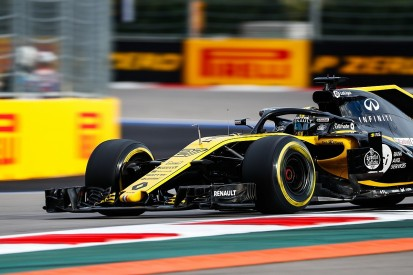 Renault uses last major upgrade of 2018 in F1's Russian GP onwards