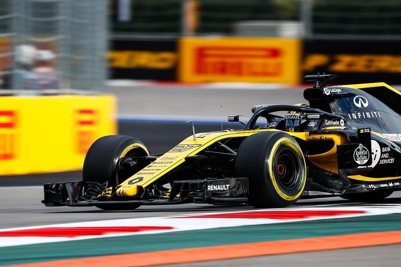 Renault uses last major upgrade of 2018 in F1's Russian GP onwards