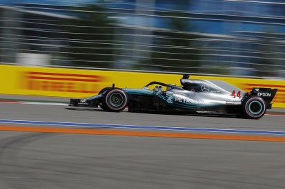 Russian Grand Prix FP3: Lewis Hamilton leads Mercedes 1-2
