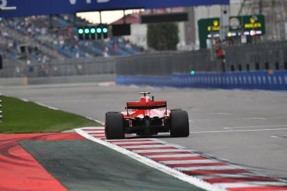 Resurfacing front part of Sochi F1 grid 'wrong' - Sebastian Vettel