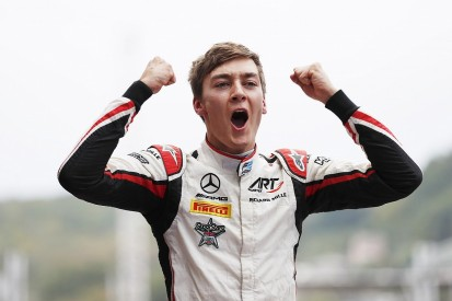 F2 Sochi: Russell wins sprint race, Norris out of title fight
