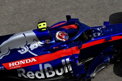 Gasly says debris hit his F1 helmet on first lap of Russian GP