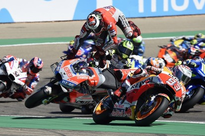 Lorenzo still blames Marquez for Aragon MotoGP crash and injury