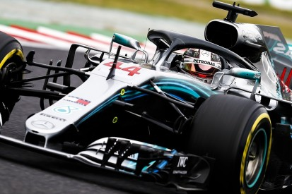 Japanese GP: Lewis Hamilton fastest again in second Friday practice