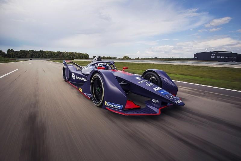Virgin reveals Gen2 Formula E livery, hires Frijns to partner Bird