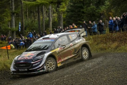 Rally GB: Ogier promises to take a 'full risk' approach to day two