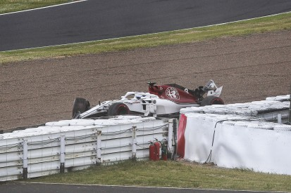Ericsson: Error while passing Bottas caused Japanese GP Q1 crash