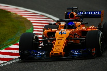 Fernando Alonso did not leave '1mm' anywhere for P18 at Suzuka