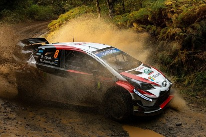 Rally GB: Tanak retires from lead, title rival Ogier capitalises