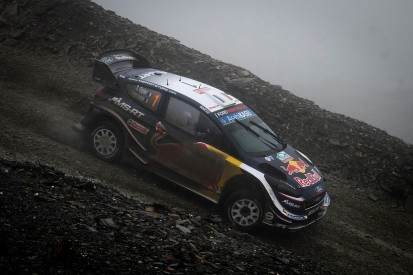 Rally GB: Ogier holds slim lead over Latvala after Tanak's exit