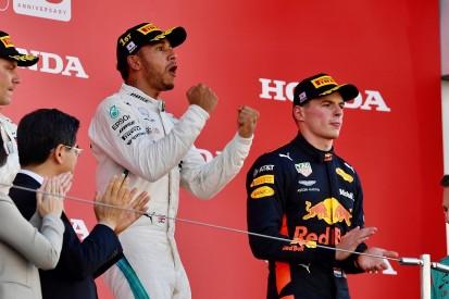 Japanese Grand Prix: Hamilton wins, Vettel clashes with Verstappen