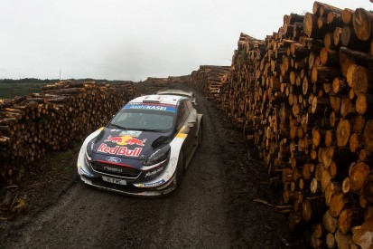 Rally GB: Final stage delayed, Ogier holds narrow lead