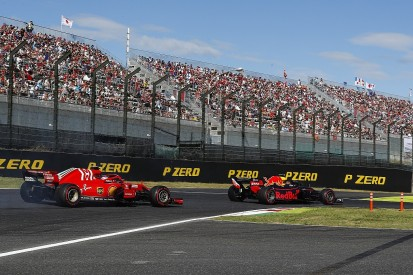 Vettel will discuss Japanese GP clash with Verstappen in private