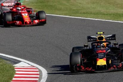 Red Bull calls Vettel's Japanese GP move on Verstappen 'optimistic'