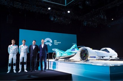 NIO Formula E team reveals Dillmann, Turvey line-up and Gen2 car