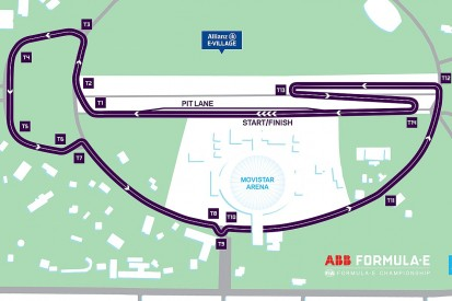 Formula E reveals new track location for Santiago's 2018/19 race