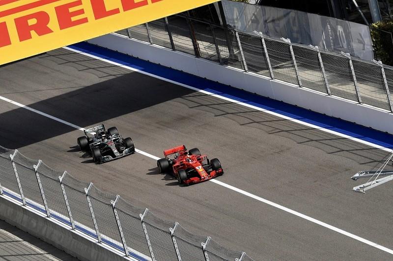 Double-moves like Vettel's on Hamilton in Russia clarified by FIA