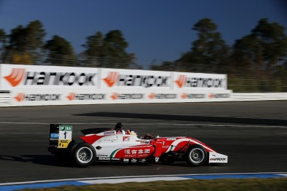 European F3 Hockenheim: Zhou on pole as Schumacher/Ticktum struggle