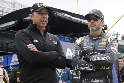 Johnson: Need for new spark prompted NASCAR crew chief Knaus split