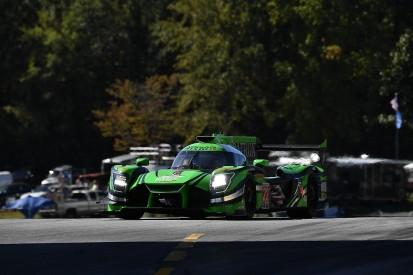 Derani claims Petit Le Mans pole, IMSA title rivals struggle