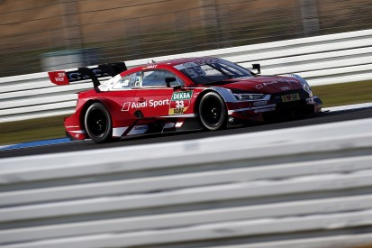 DTM Hockenheim: Rene Rast wins to set up three-way title showdown
