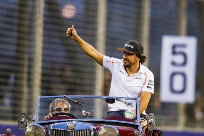 Alonso says every F1 race since his quit news is a 'celebration'