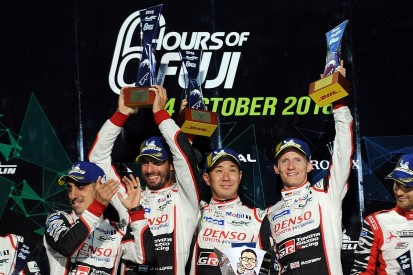 Fuji WEC: First win for two years for Toyota's Kobayashi and Conway