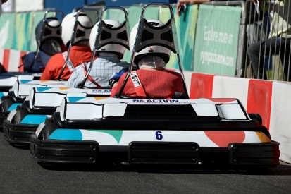 Electric kart race held in support of Buenos Aires Youth Olmpics